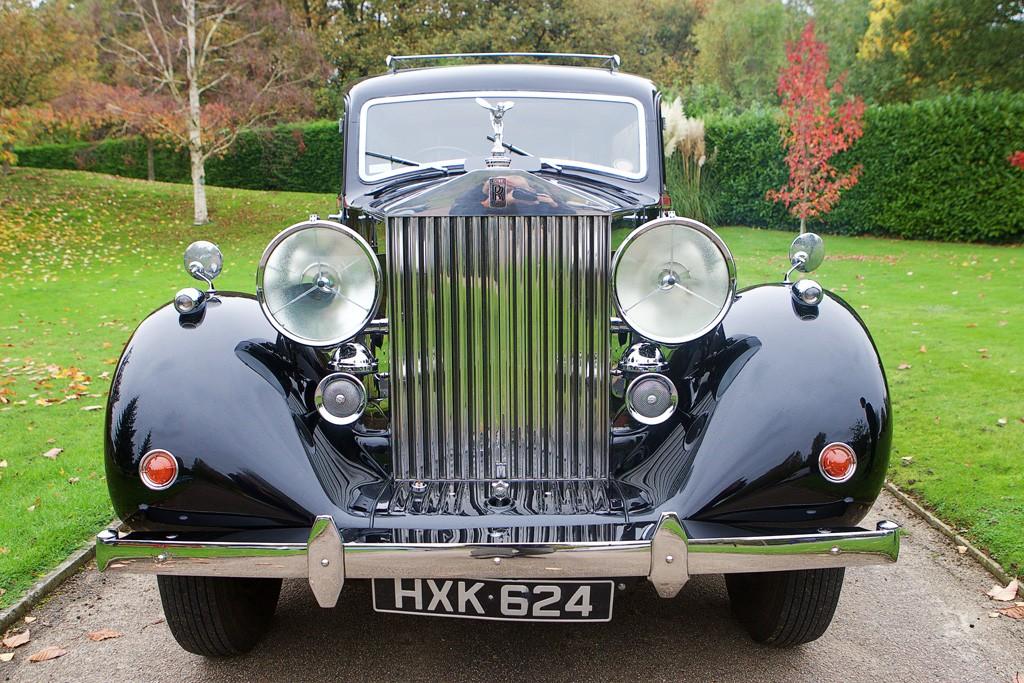 Vintage Rolls hearse 2