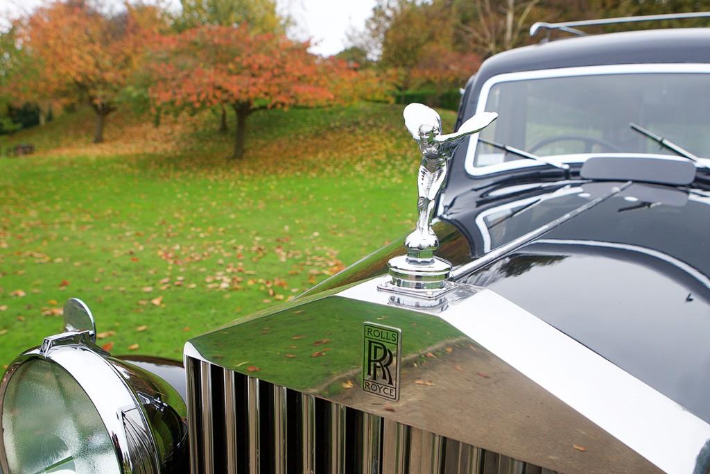 Vintage Rolls hearse 3